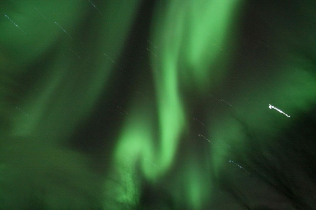 Aurora seen from Abisko, Sweden.