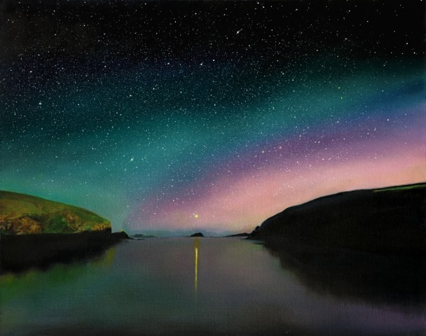 """Aurora Reflections"" by Ellie Mulhern"