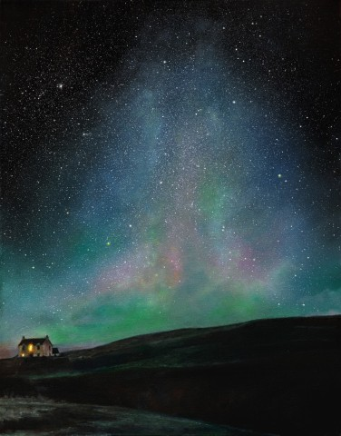 """Under Aurora Skies"" by Ellie Mulhern"