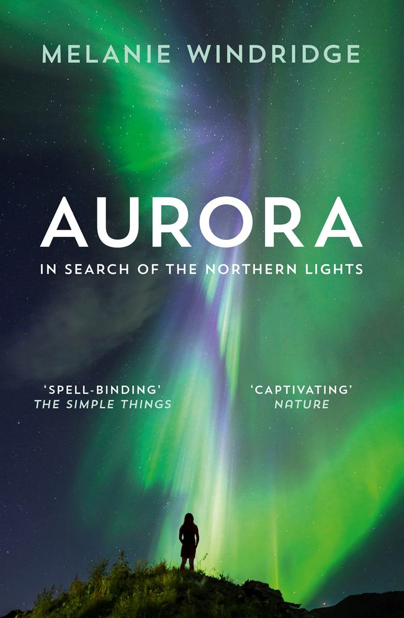 Paperback cover of Aurora by Melanie Windridge