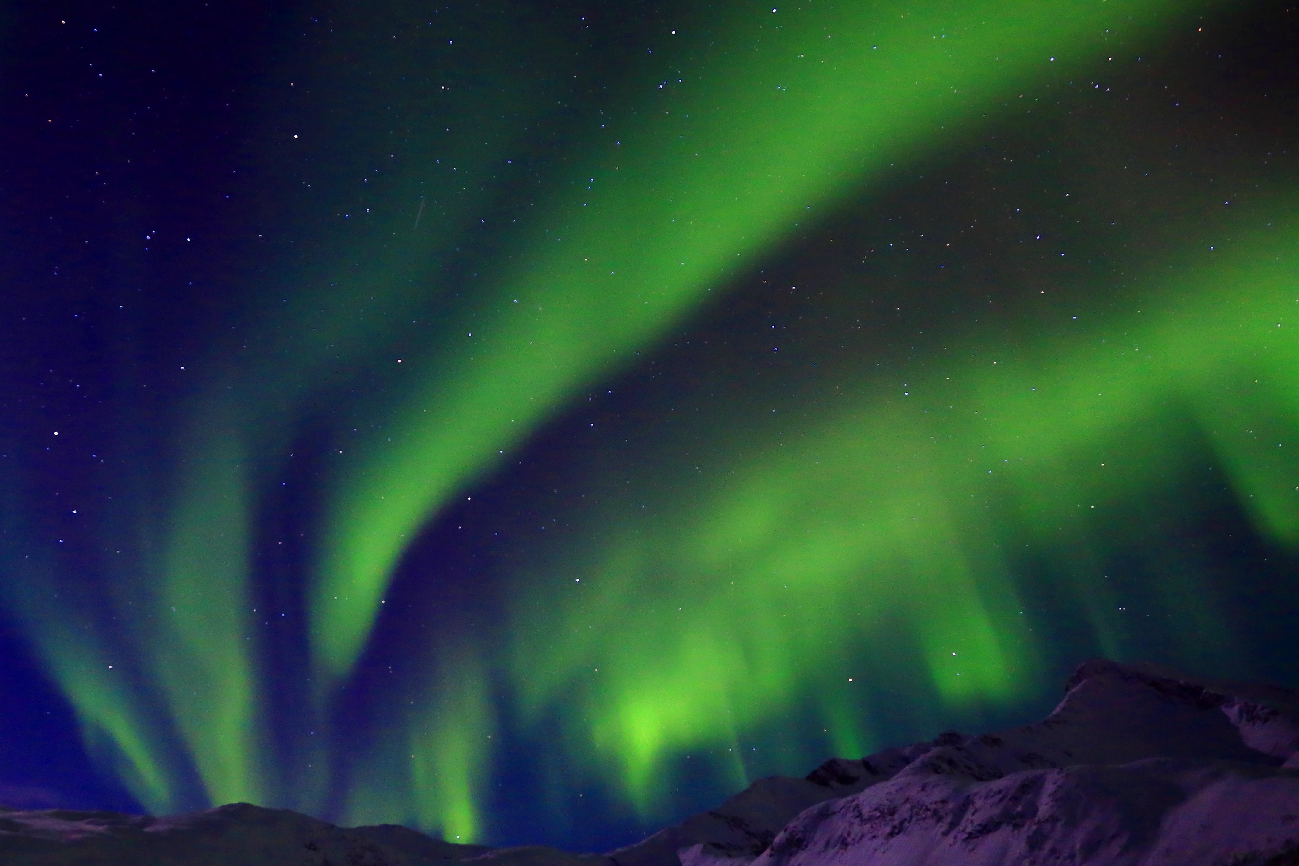 Northern lights, Tromsø, by Martin Izzard