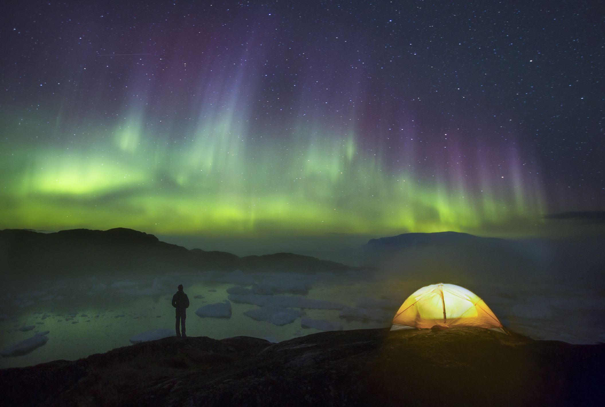 Self-portrait. The Green in Greenland by Paul Zizka Photography.