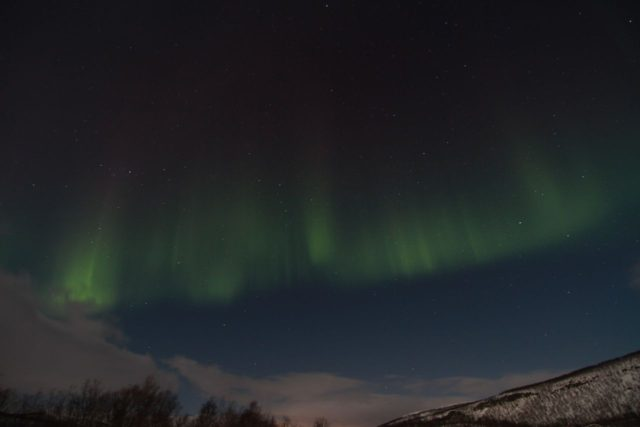 Aurora near Alta, Norway. Photo by Trygve Nygård, GLODExplorer.