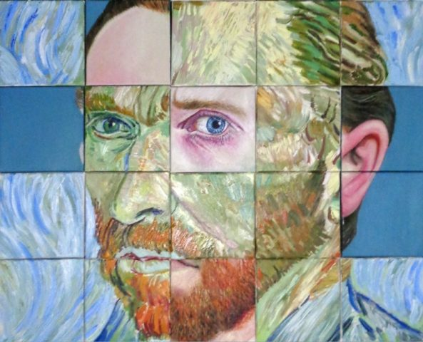 Van Gogh Revisited at the Technohoros Art Gallery.