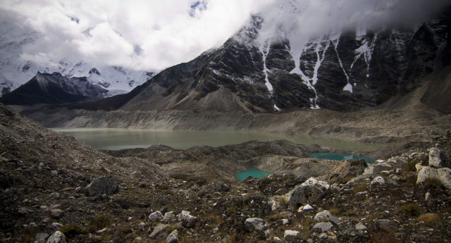 Imja Lake in the Himalaya