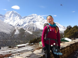 Dr M Windridge Everest Base Camp trek