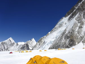 Dr M Windridge Camp 1 Mount Everest