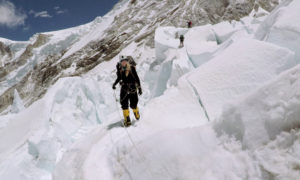 Melanie Windridge Mount Everest Khumbu Icefall by Bruno Dupety