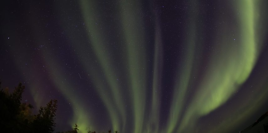 Aurora in Yellowknife by Martin Izzard