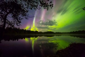 Autumnal aurora, Photo: The Aurora Zone, Markku Inkila