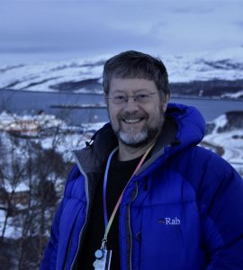 Graham Bryant is an astronomer giving talks on the Hurtigruten Astronomy Voyage.