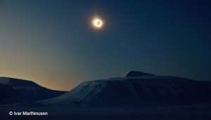 Totality on 20th March 2015, Spitsbergen, Svalbard, by Ivar Marthinusen.