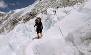 Melanie Windridge Mount Everest Khumbu Icefall by Bruno Dupety