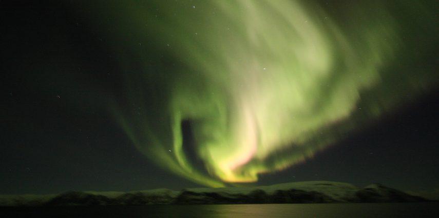 Aurora seen from a Hurtigruten cruise in December 2018. Photo: Graham Bryant