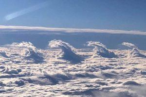 Fluctus clouds in Missouri, US. Photo: Shawn McCauley