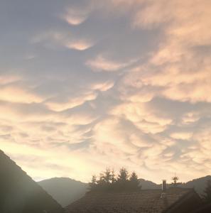 Mammatus clouds. Photo: Melanie Windridge