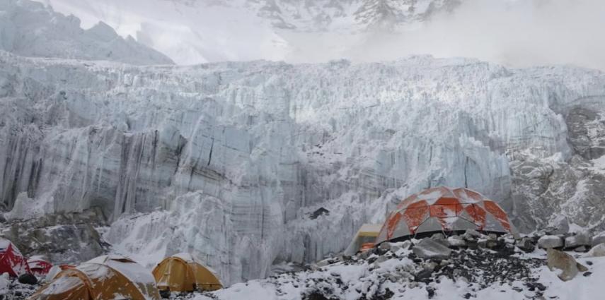 Camp 2 on Mount Everest