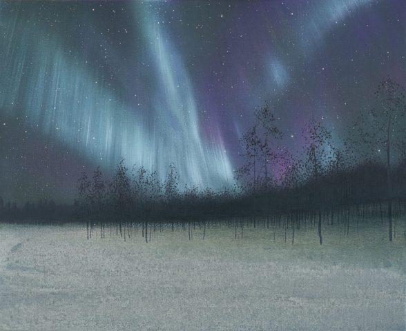 Nicholas Jones, White Aurora, Nellim, Finland, 2016