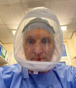 Jeremy in PPE