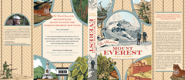 Craig Storti - The Hunt for Mount Everest book cover
