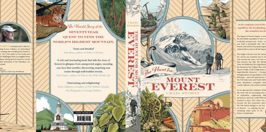 The Hunt for Mount Everest book cover